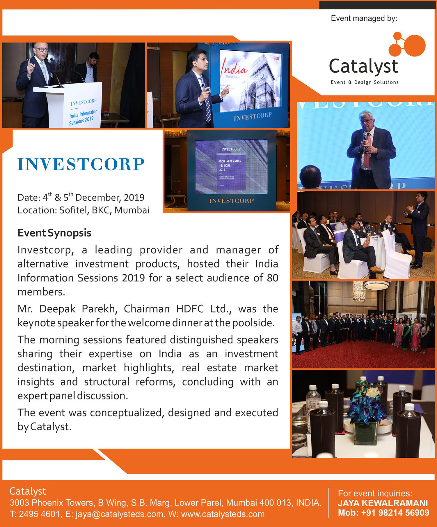 Investcorp Global Conference 2019